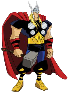 236x316 Thor Marvel Clip Art Png
