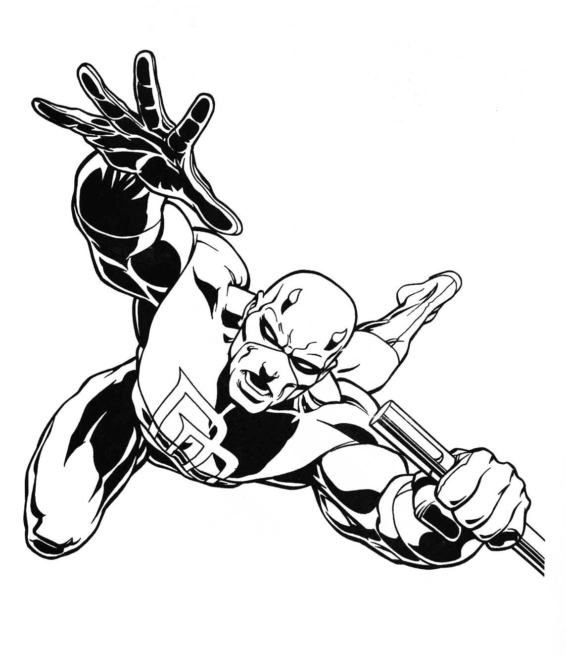 Marvel Coloring Pages | Free download on ClipArtMag