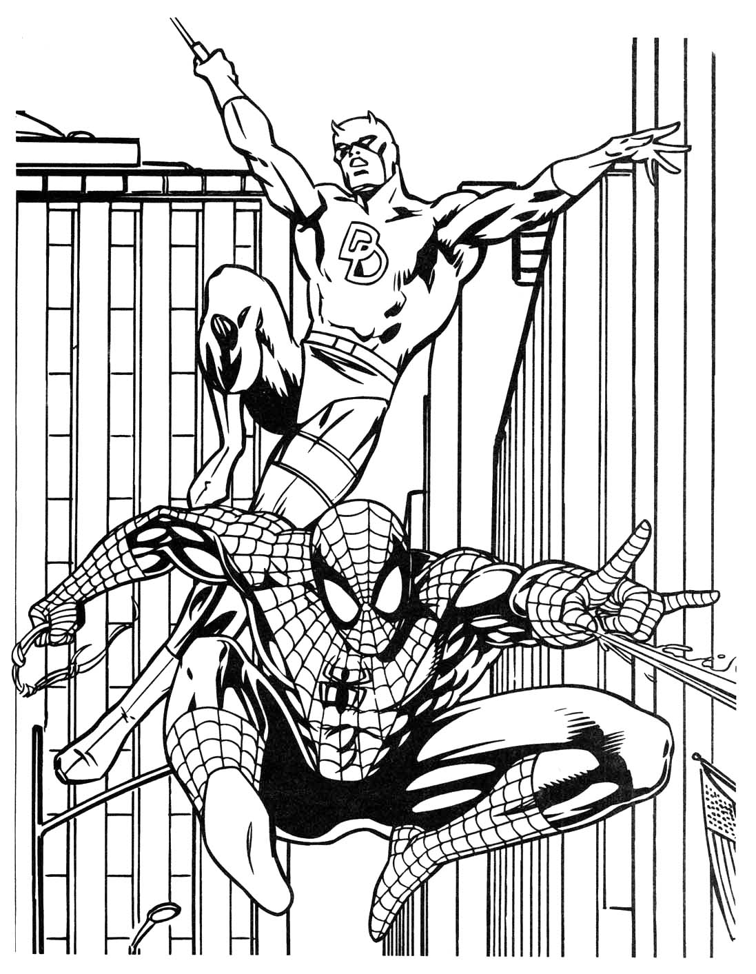 1097x1413 Marvel Superhero Coloring Pages