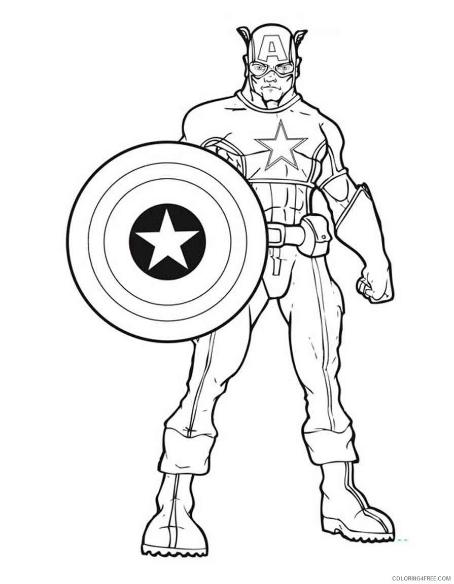 895x1153 Marvel Avengers Coloring Pages Printable Coloring4free