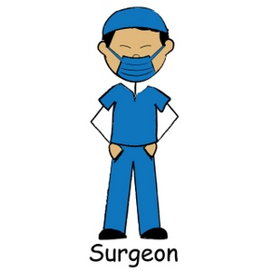 300x300 Doctor Cartoon Clipart Image