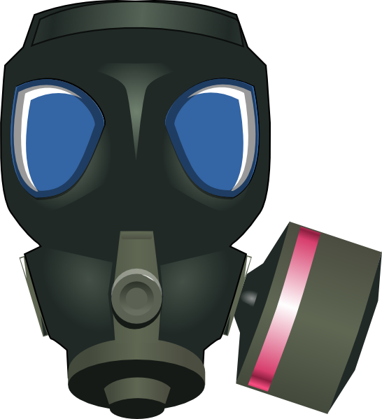 546x599 Gas Mask Clip Art