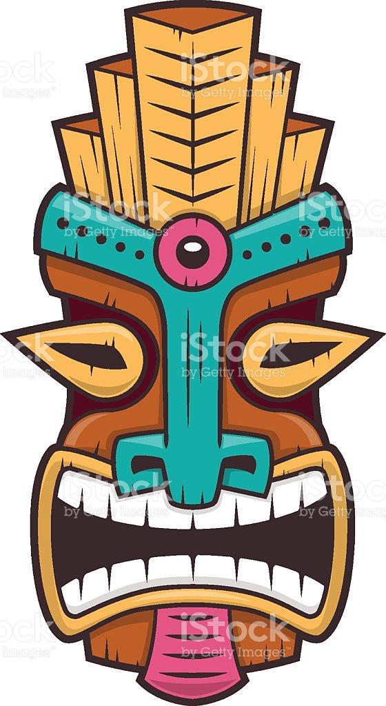 560x1024 Mask Clipart Polynesian