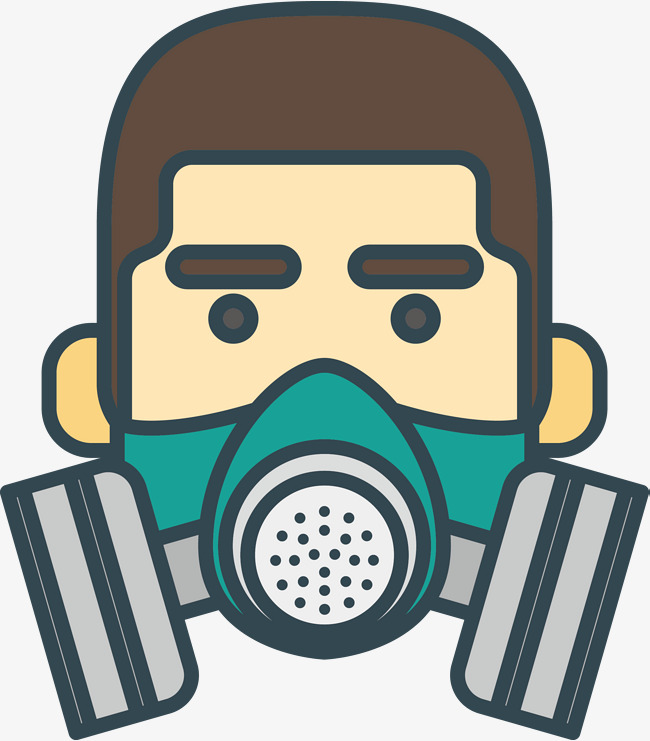 650x741 Air Filter Protective Mask, Mask, Vector Mask, Cartoon Mask Png