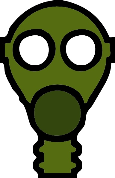 384x594 Gas Mask Clip Art Free Vector In Open Office Drawing Svg ( Svg