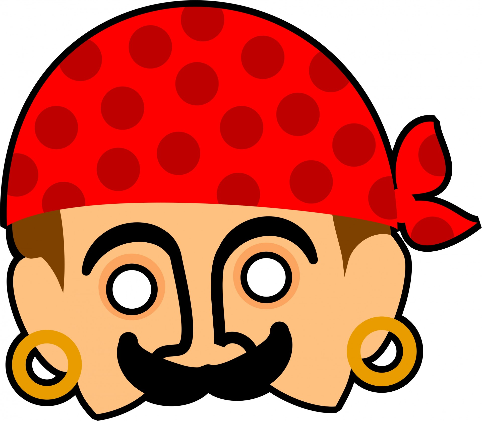 1920x1678 Kids Pirate Mask Clipart Free Stock Photo Public Domain Pictures