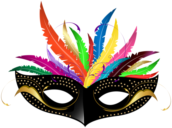 600x448 Carnival Mask PNG Transparent Clip Art Image Clipart
