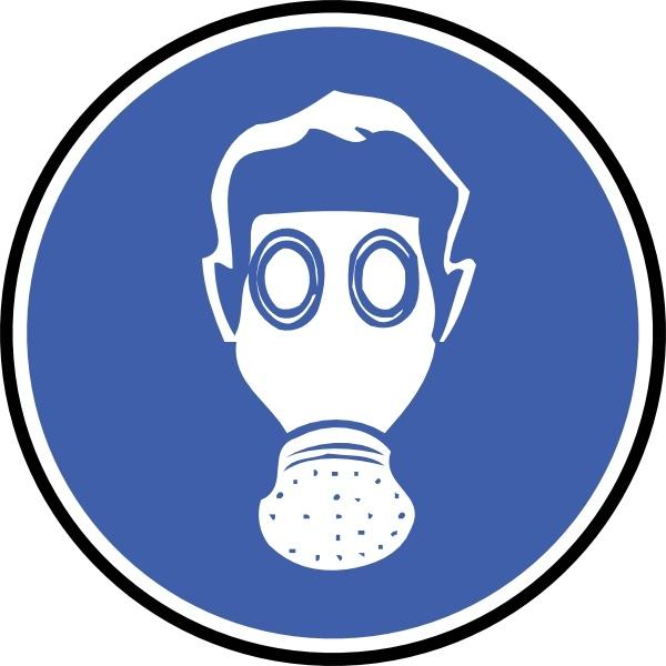 600x600 Gas Masks Clipart
