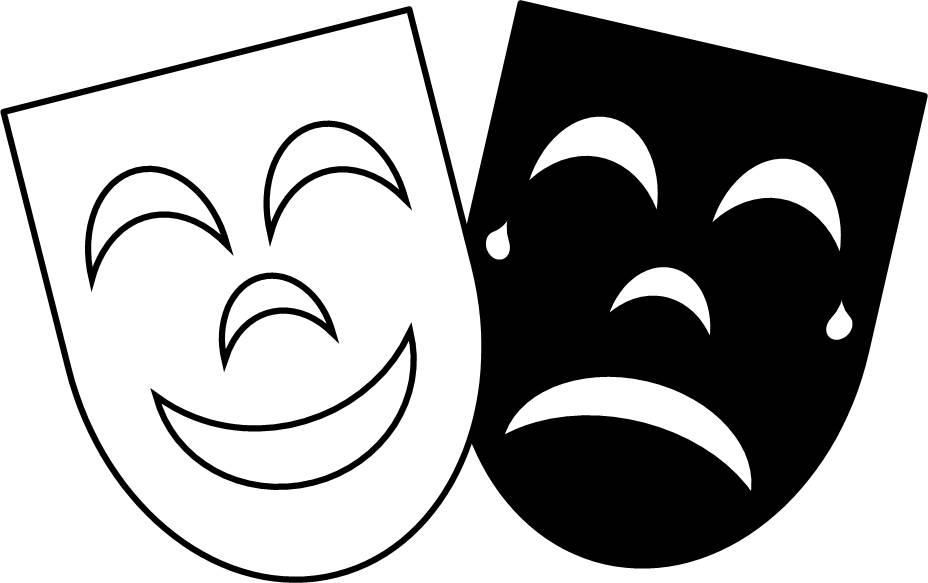 928x583 Masks Clipart Simple