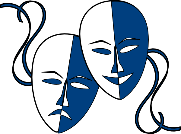 600x444 Masks Clipart Theater