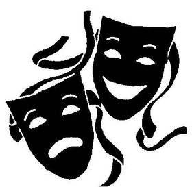 280x273 Drama Logo Clip Art Clipart
