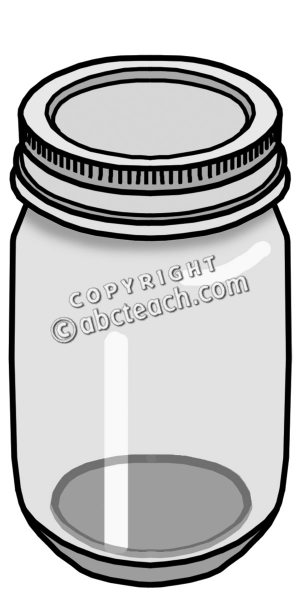 300x600 Jar Clipart Container