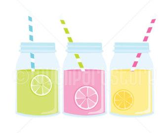 340x270 Jar Clipart Lemonade