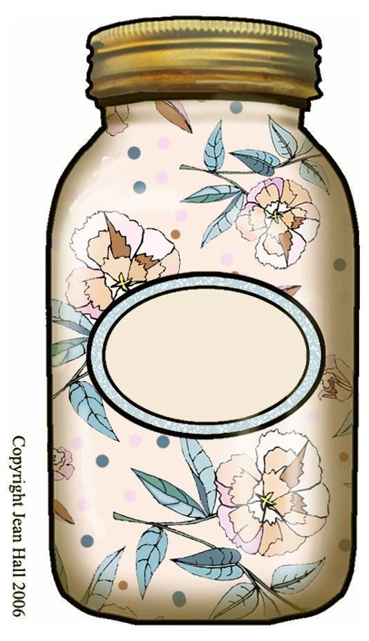 534x927 Mason Jar Clipart Blank