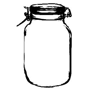 300x300 Mason Jars Jars Tins Sweetly Scrapped Clip Art