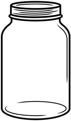 photograph about Printable Mason Jar Template titled Mason Jar Clipart No cost No cost down load ideal Mason Jar