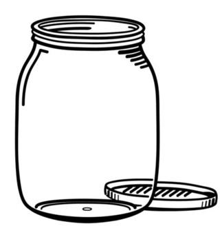 320x328 Mason Jar Clipart Tip Jar