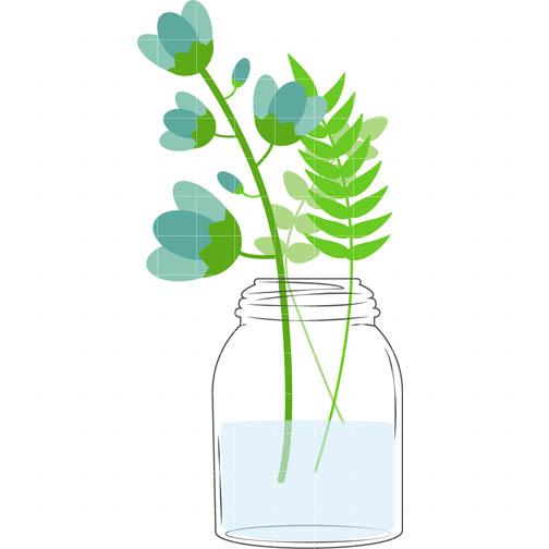 504x504 Images Of Mason Jar Flower Clip
