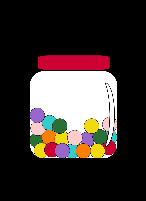 1090x1500 Mason Jar Clipart Candy