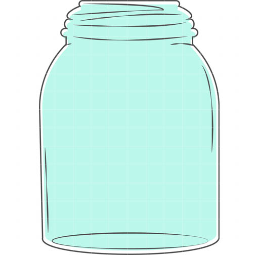 504x504 Mason Jar Vintage Jar Clip Art Clipartwiz