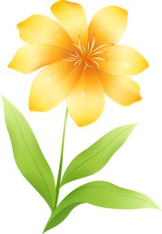 236x341 Yellow Flower Clipart Tropical Flower