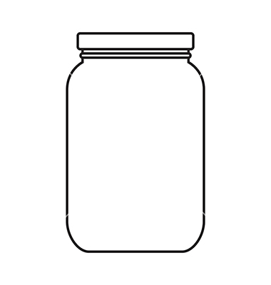 380x400 Graphics For Mason Jar Vector Graphics
