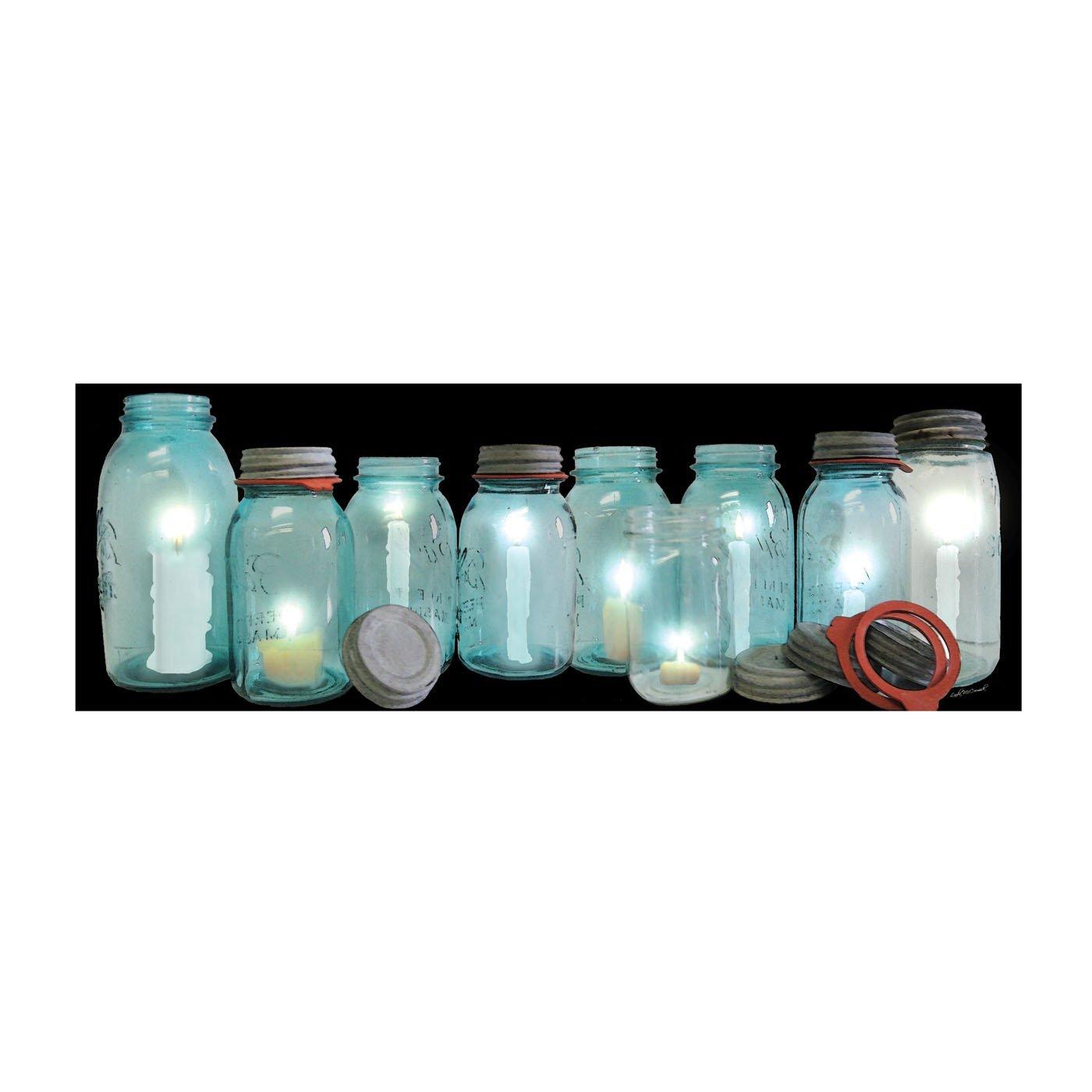1400x1400 Ohio Wholesale Radiance Lighted Row Of Canning Jars