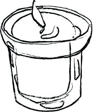 323x388 Free Mason Jar Clipart Mason Jars Candles Vector Candles Candles