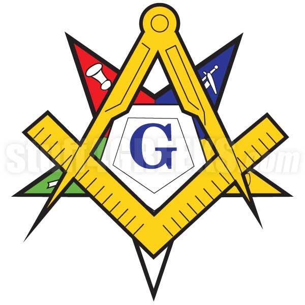 600x600 Masonic Patron Symbol Patch