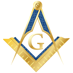 256x256 Masonic Square and Compass my Husband is a proud Mason and he