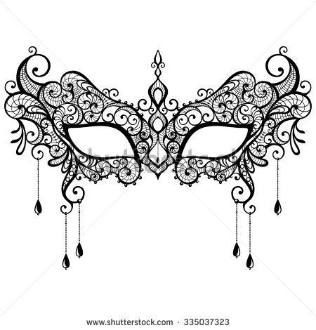 450x470 Masks Clipart Masquerade Mask