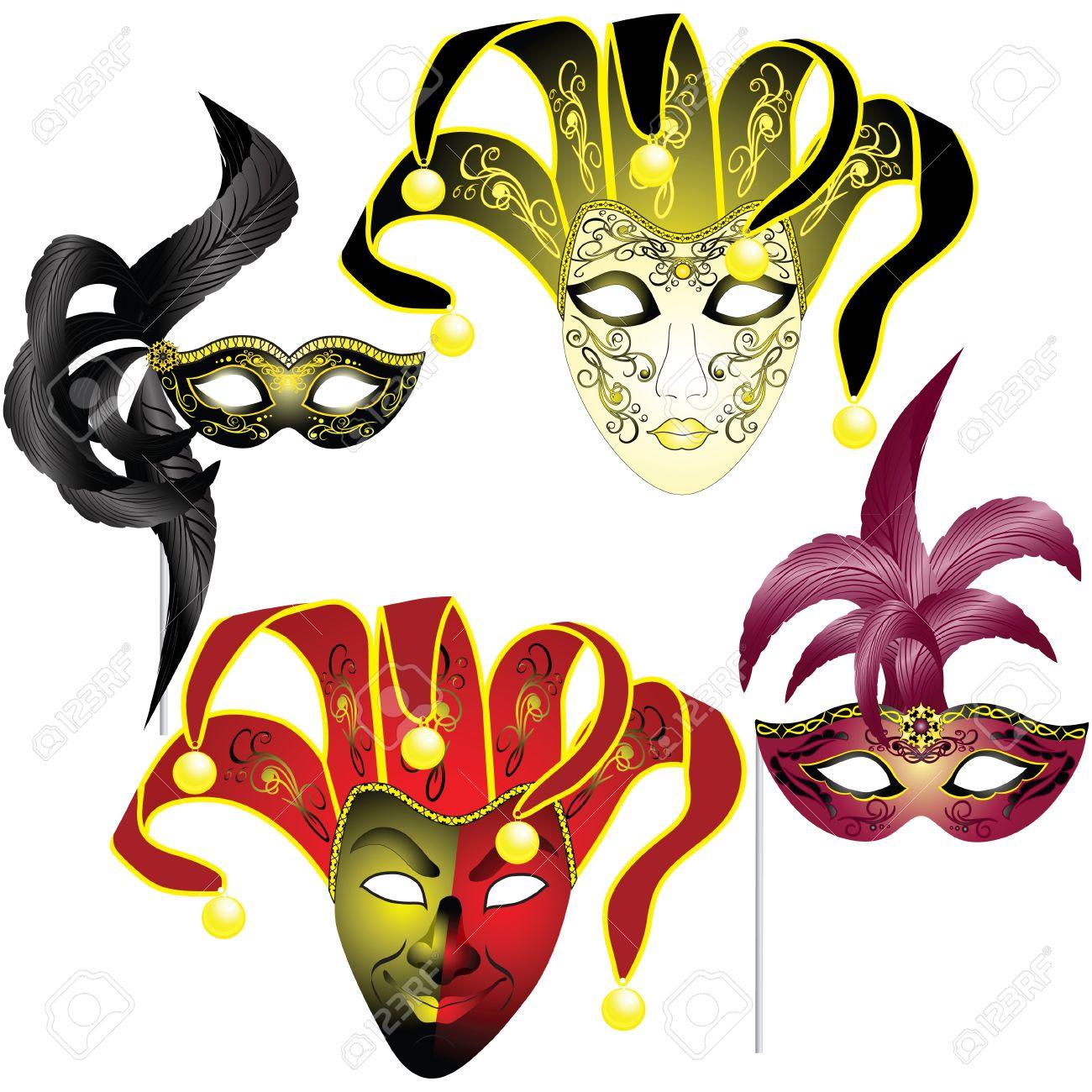 1300x1300 Masquerade Clipart Venetian Mask