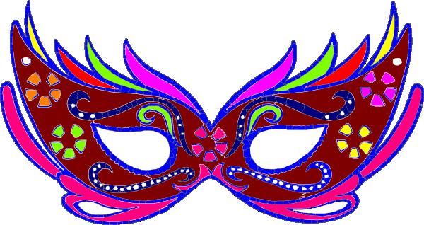 600x318 Purple Masquerade Mask