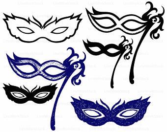 340x270 Carnival Mask Etsy