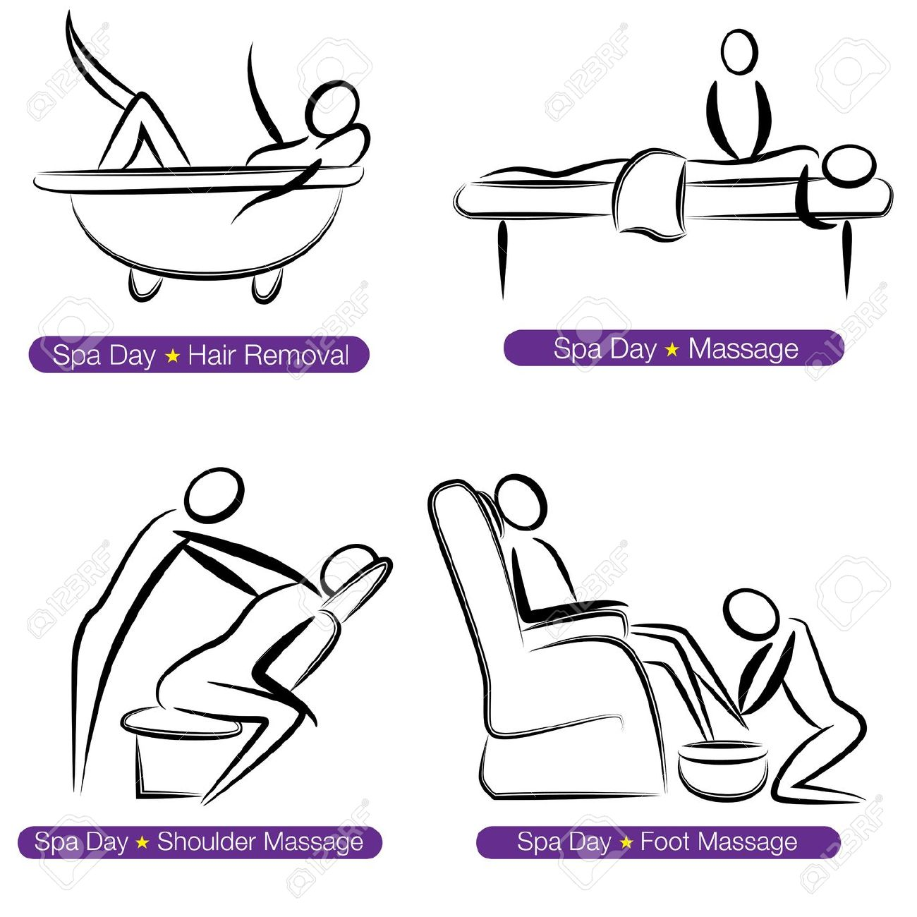 Massage Cartoon Clipart | Free download on ClipArtMag