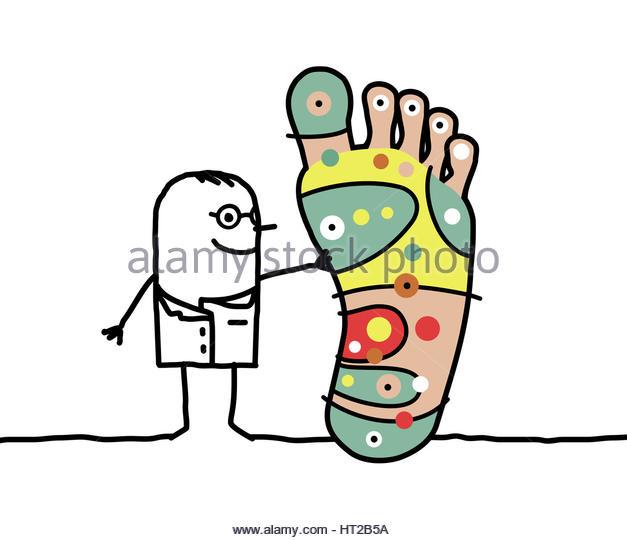 627x540 Big Foot Clipart Foot Massage