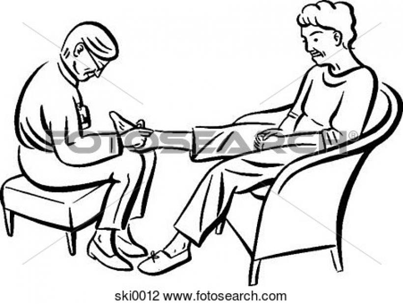 820x619 Foot Massage Clipart Foot Massage Clipart Clip Art Of Foot Massage
