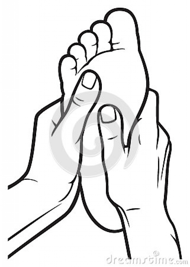 730x1024 Foot Massage Clipart Foot Massage Clipart Thai Massage Stock