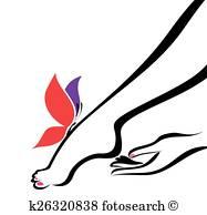 187x194 Foot Massage Clipart And Illustration. 500 Foot Massage Clip Art