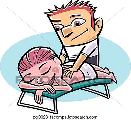 450x415 Back Massage Illustrations And Stock Art. 449 Back Massage