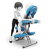 170x170 Chair Massage Clipart Free