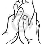 150x150 Foot Massage Clipart