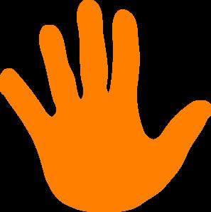 297x298 Handprint Clipart Massage Hand