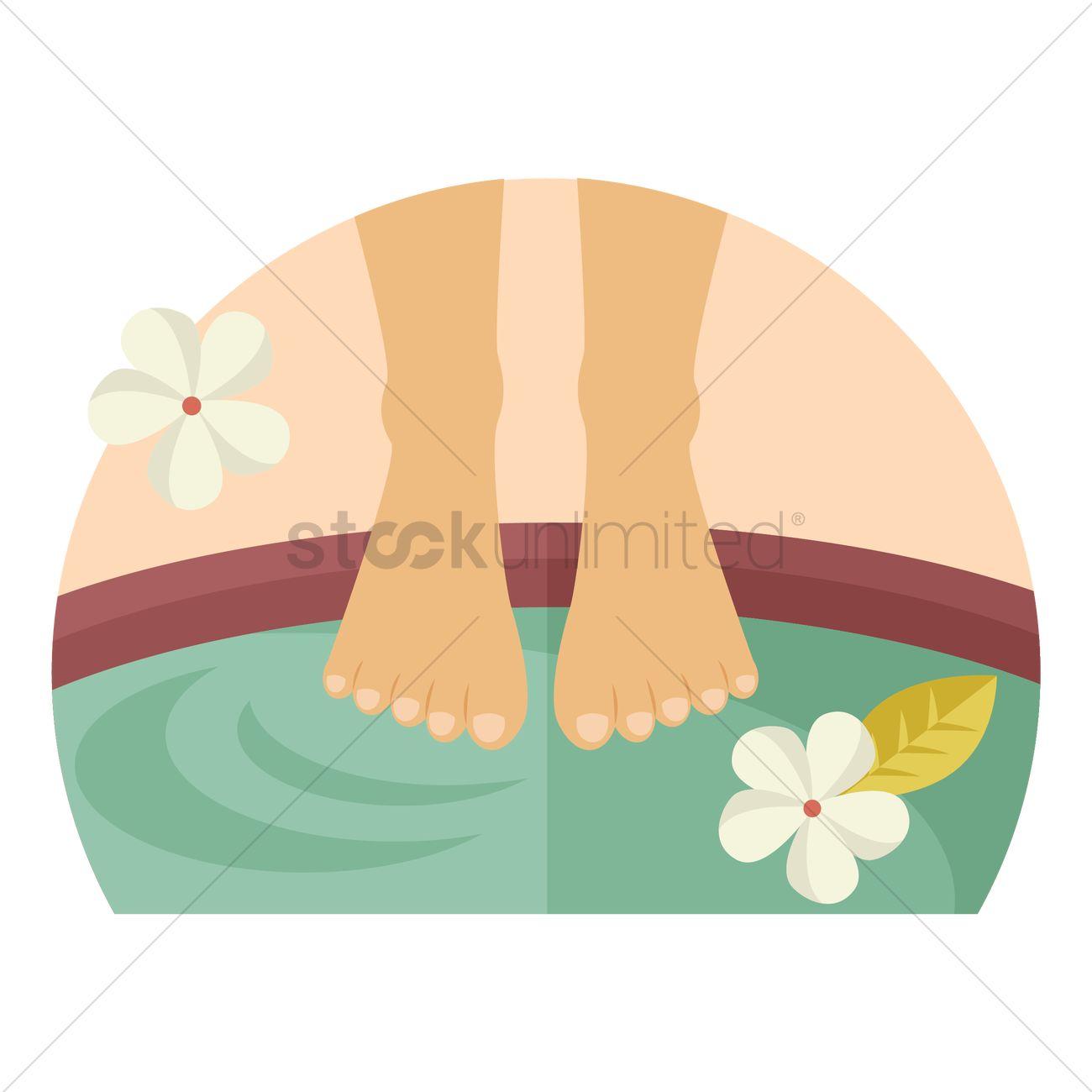 1300x1300 Barefoot Clipart Foot Massage