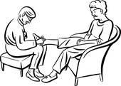 170x121 Clip Art Of Massage Therapy Vmo0052