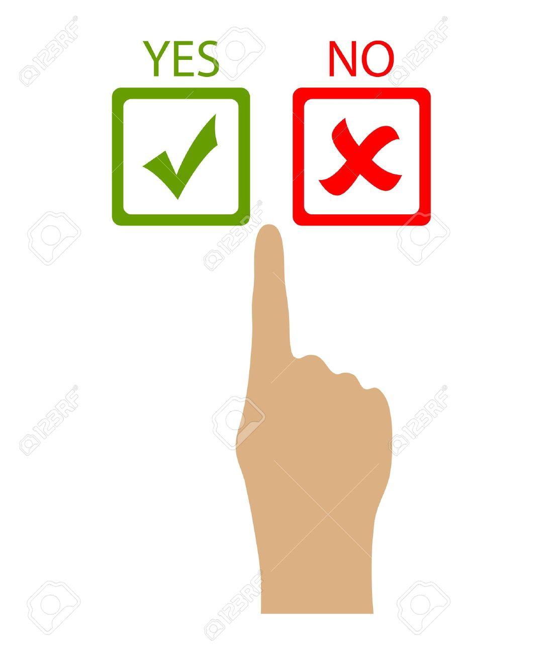 1098x1300 Choose Yes Or No, Vector Clip Art Royalty Free Cliparts, Vectors