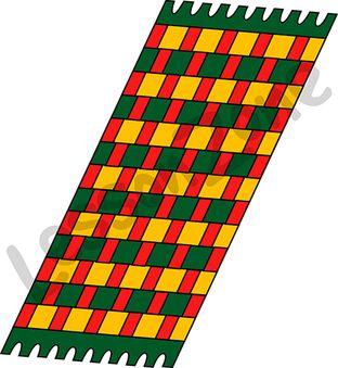 312x339 Kwanzaa Mat Clip Art Cliparts