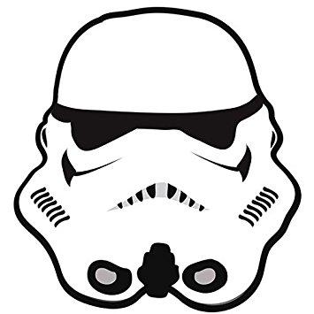 355x355 Boyskids Star Wars Storm Trooper Bedroom Floor Rug
