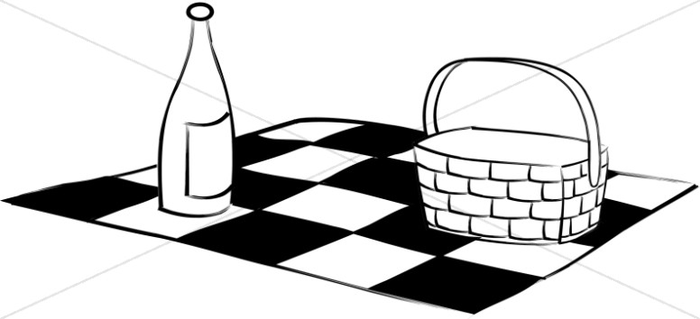 776x354 Blanket Clipart Black And White