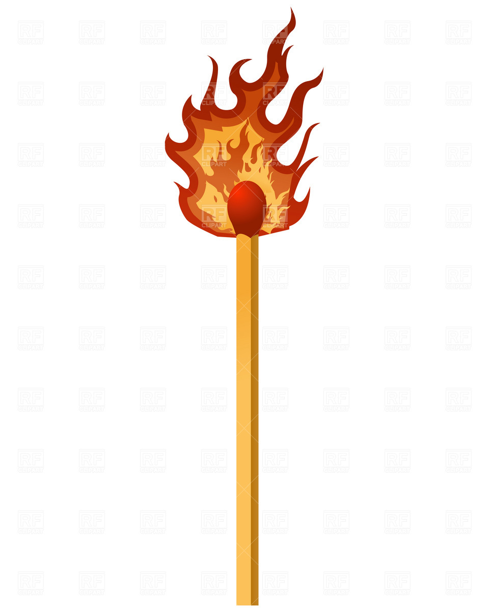960x1200 Matches Clipart Burning Match